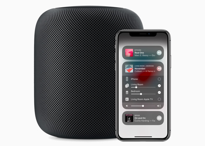 Beyond AirPlay 2 and multiple unit audio imaging, another new HomePod software update will add song lyrics, timers, phone calls, and finding other iOS devices