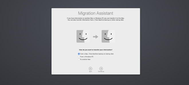 Migration Assistant now moves more types of files.