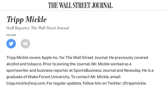 The WSJ hired a sportswriter with scant tech industry experience to interpret Apple's global supply chain