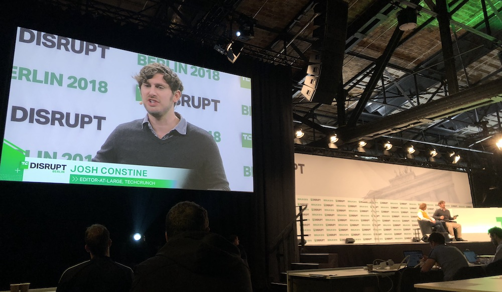Josh Constine of  Tech Crunch  discusses startup funding with Funderbeam CEO Kaidi Ruusalepp
