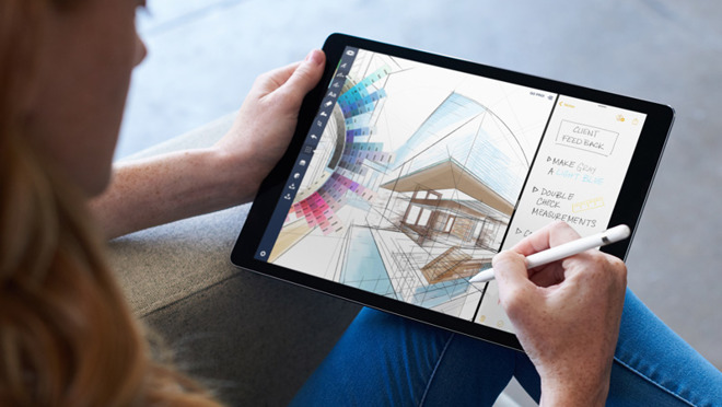 iPad Pro is growing next to Macs in a PC market that's shrinking