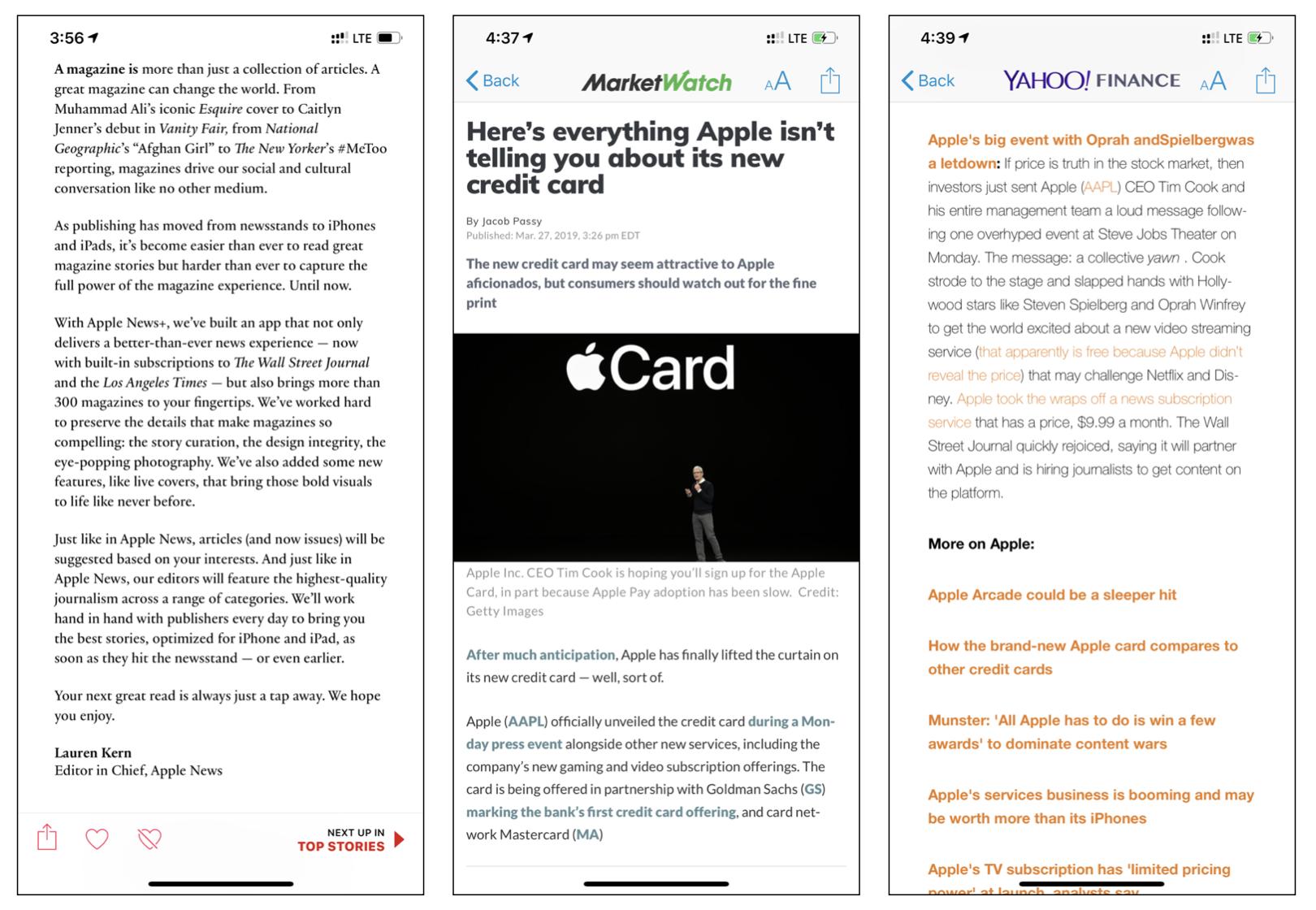Apple News vision vs reality