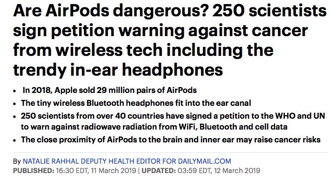 Alarming, but also not true