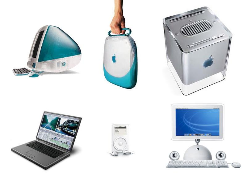 Apple's early 2000s product lineup was fresh and unique