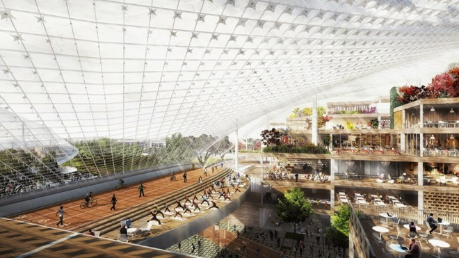 Nobody imagined any risk of injury at Google's planned offices