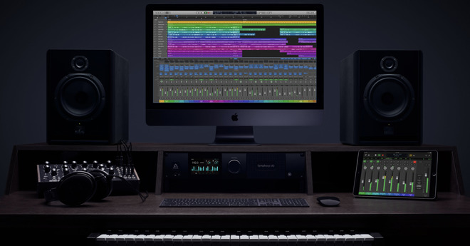Apple's Logic Pro X has a content-focused UI for professionals—carried over to Logic Remote on iPad