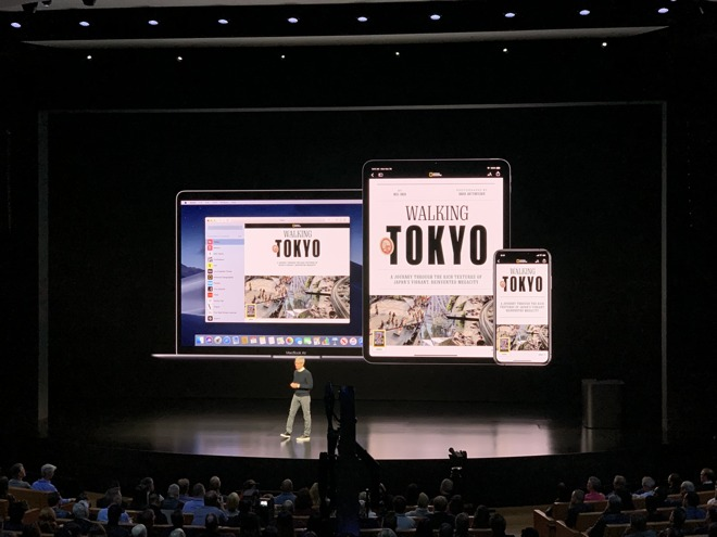 Apple's hardware-free presentation was actually all about its hardware