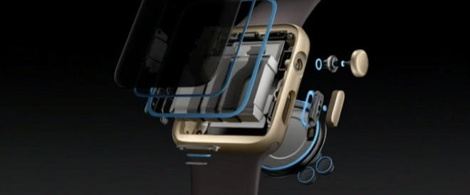 Apple Watch seals developed to achieve water intrusion resistance accelerated iPhone advancement