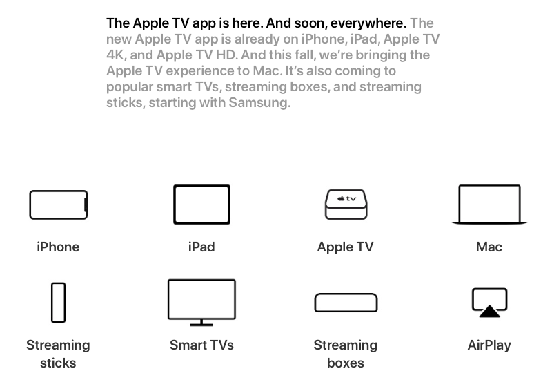 Apple's TV app is going places. Apple's TV app is going places.