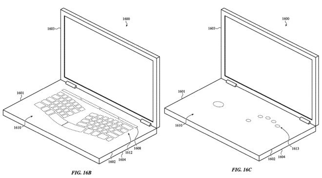 Apple has  patented glass keyboard concepts .