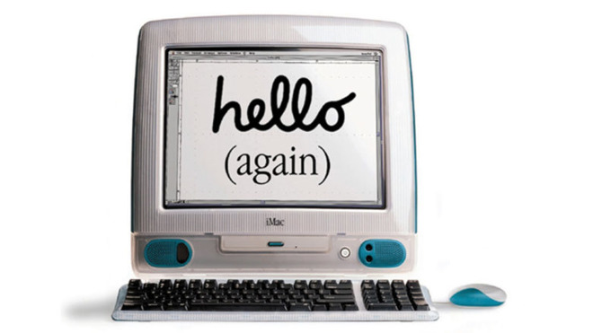 iMac wasn't just functional, it was designed to be fun