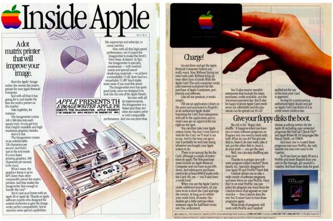 A less advanced Apple Card, 35 years ago, also sought to influence buyer behavior