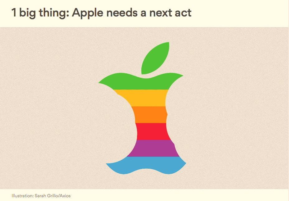 If you can draw a picture of Apple being eaten up, it must be true, right?