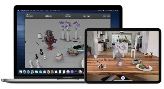 Catalina's Reality Composer makes it easy to construct AR worlds for iOS users