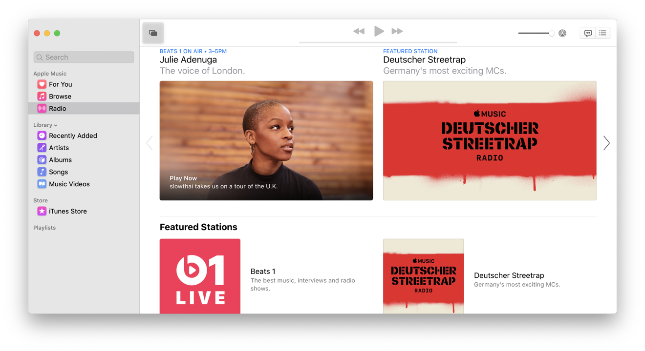 Music has a new name, but it's really an iTunes optimized for listening to music