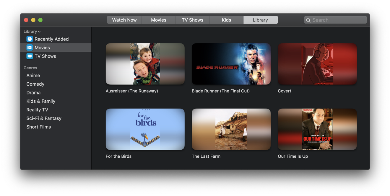 Your iTunes movies and TV are now in the TV app