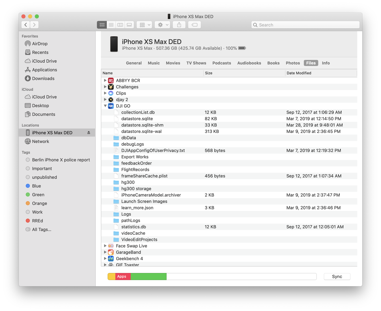 There's a way to manually move files into specific app sandboxes, but it's looking a bit rough