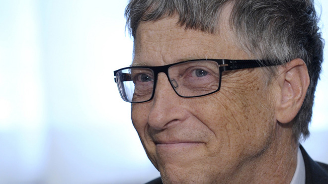 Bill Gates is back to burnish his historical image. Source: Forbes