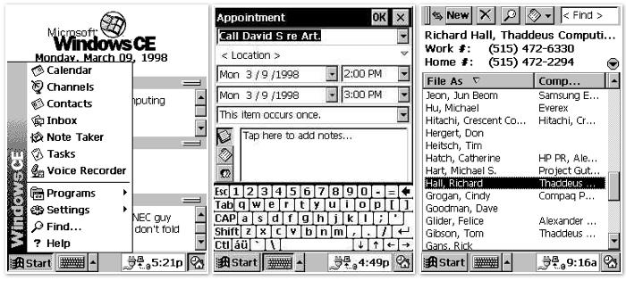 """Windows CE got started just as Newton ended. Licensing didn't """"naturally"""" help either one become successful platforms"""