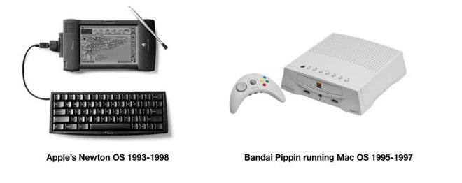 "Apple's licensed platforms were not ""natural"" hits"