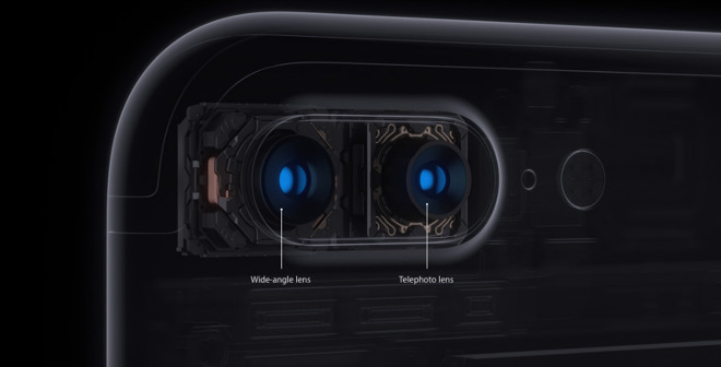 Apple paired a standard and zoom lens together with the ability to shoot simultaneously