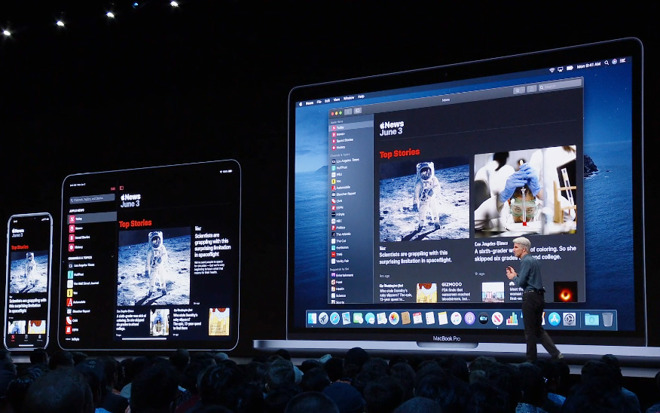 In macOS Catalina, Catalyst enables iPad apps to migrate to the Mac