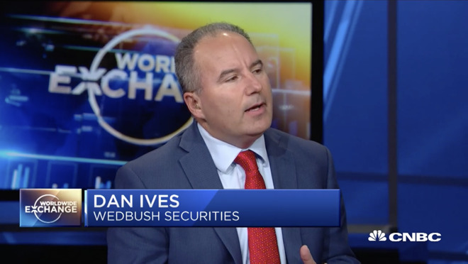 Wedbush Securities managing director Dan Ives often shovels out thoughts on  CNBC