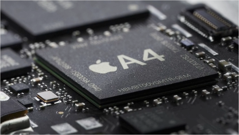 Apple's 2010 A4 was paid for by high volume, profitable sales