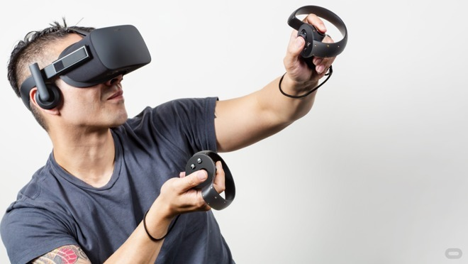 Oculus developed wireless controllers for Rift VR, but Apple could sell advanced controllers even before bringing AR glasses to market