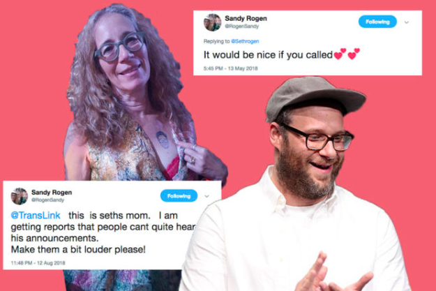 Seth Rogen's Mom Is Twitter's Ultimate Jewish Mother -