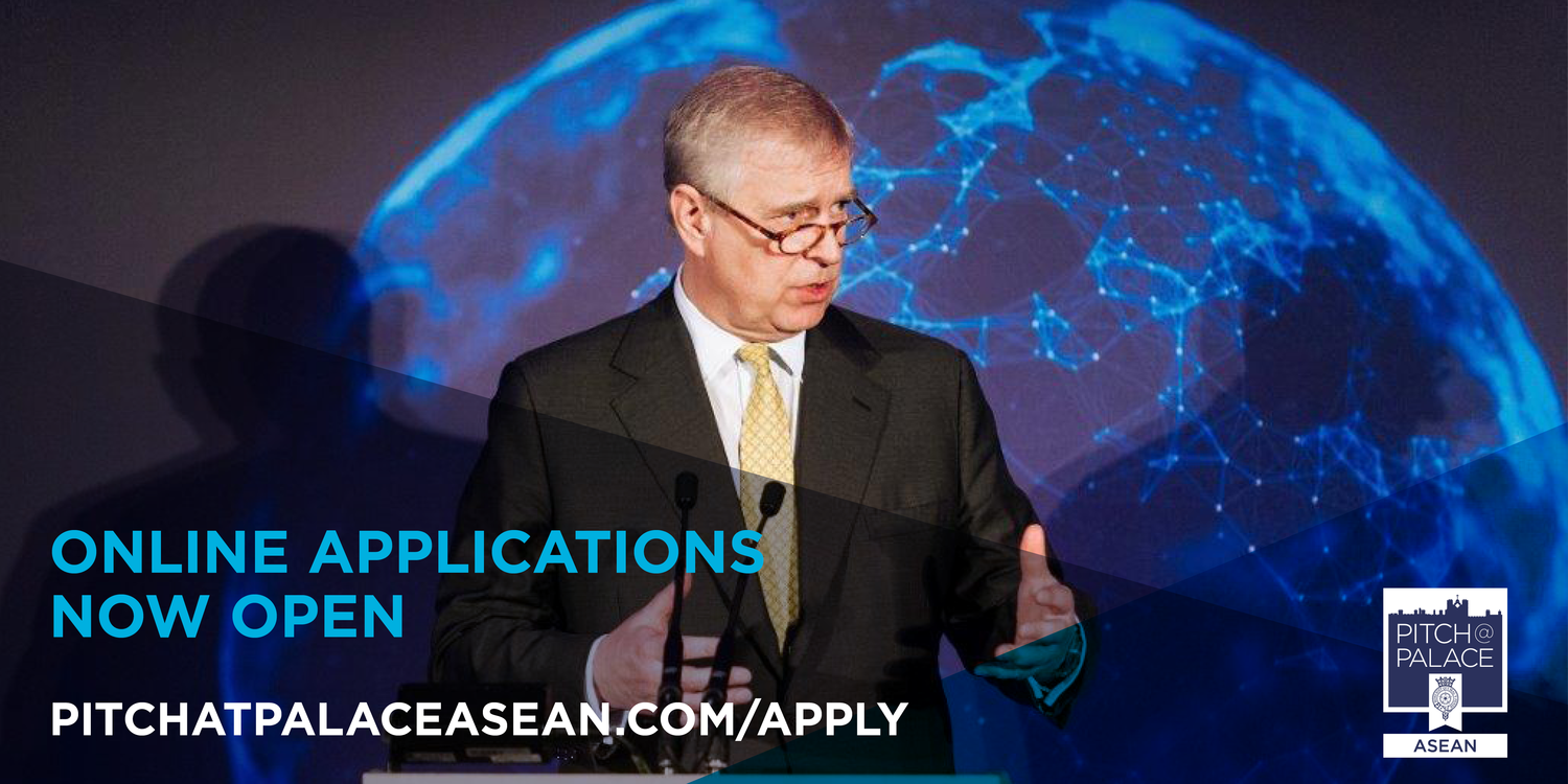 AirAsia and HRH The Duke of York invite all Entrepreneurs to submit their applications for Pitch@Palace ASEAN 1.0