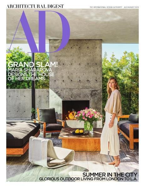 ARCHITECTURAL DIGEST - July/August 2019  Los Angeles subscriber copies