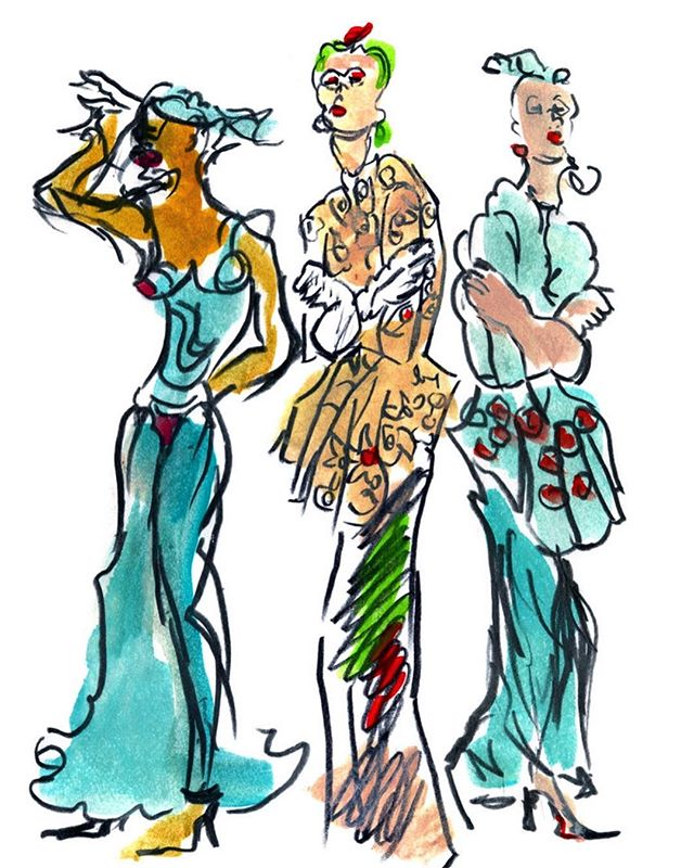 Hello to my new followers! 🎨 A bit about me: I am an internationally-recognized artist, painter, and animator based in Philadelphia, PA. My work comprises of fashion illustrations, animation, and graphics depicting the Diva, who is unapologetically colorful, fabulous, and uninhibited. I am most interested in exploring the collision of art, fashion and music in my work.