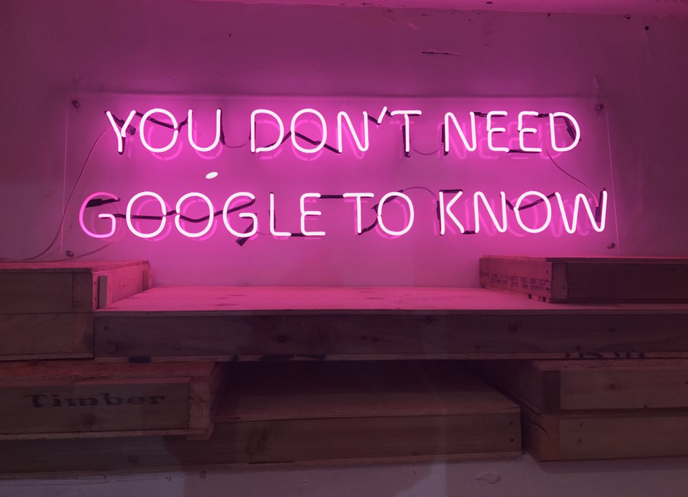 You Don't Need Google  by Eve de Haan