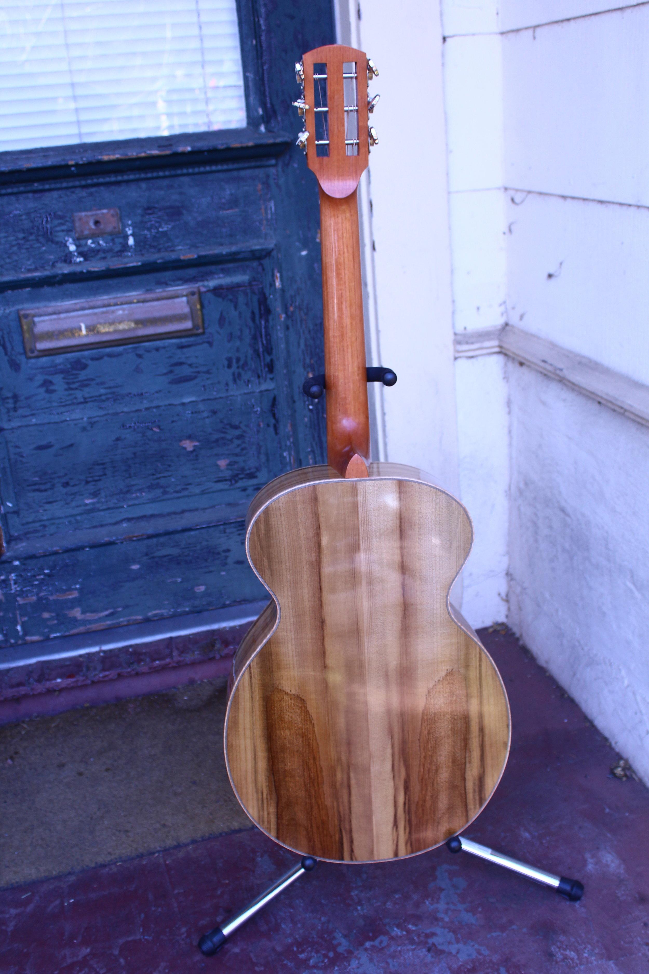 Laurel wood guitar