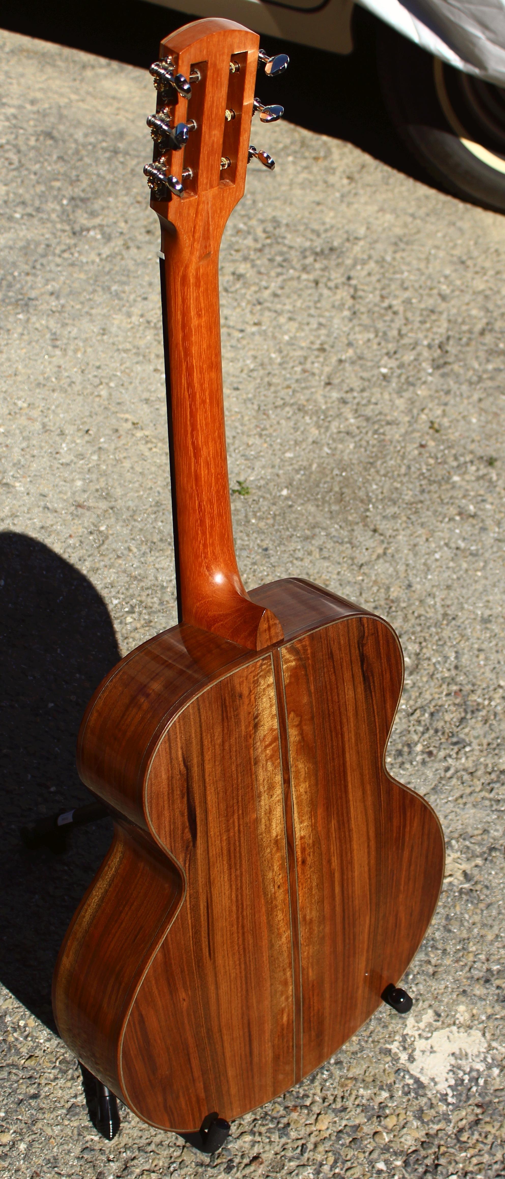walnut guitar