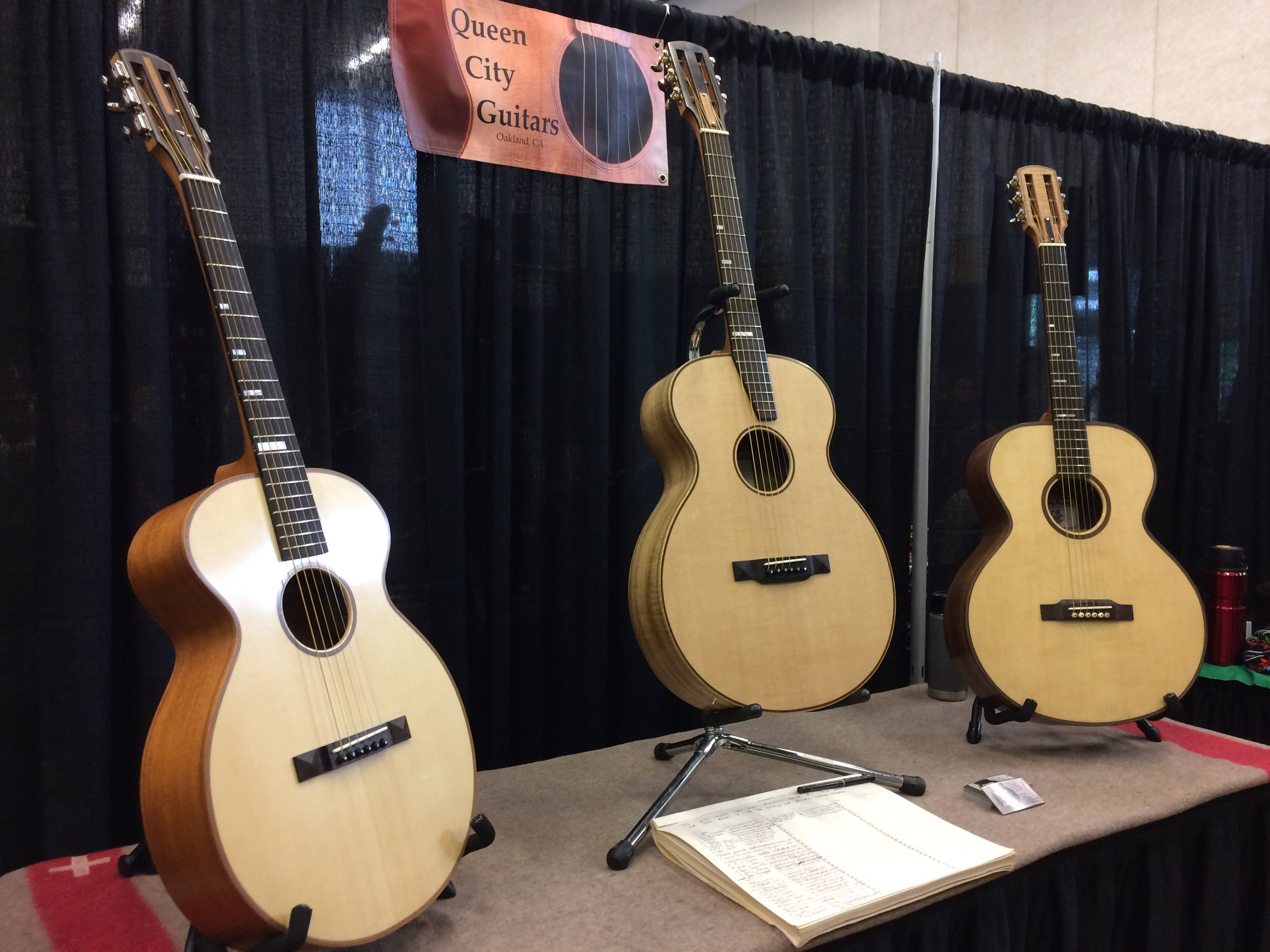 vancouver guitar festival booth