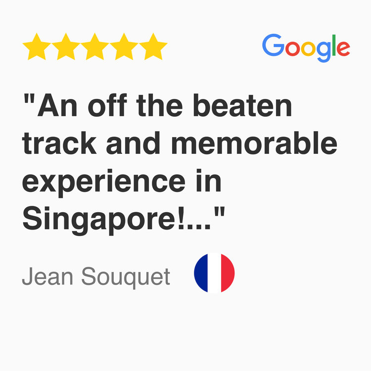 5 star Google Review for kayak fishing fever tour Singapore, An off the beaten track and memorable experience in Singapore