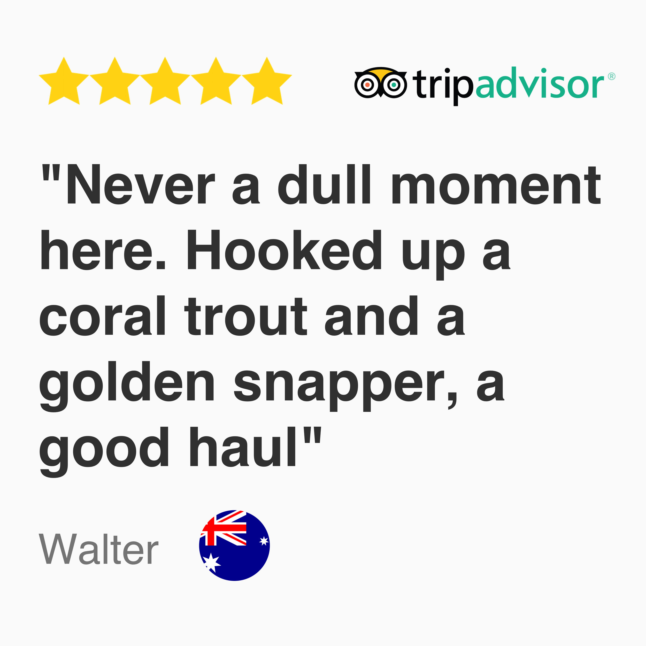 tripadvisor review for kayak fishing tour singapore: Never a dull moment here. Hooked up a coral trout and a golden snapper, a good haul