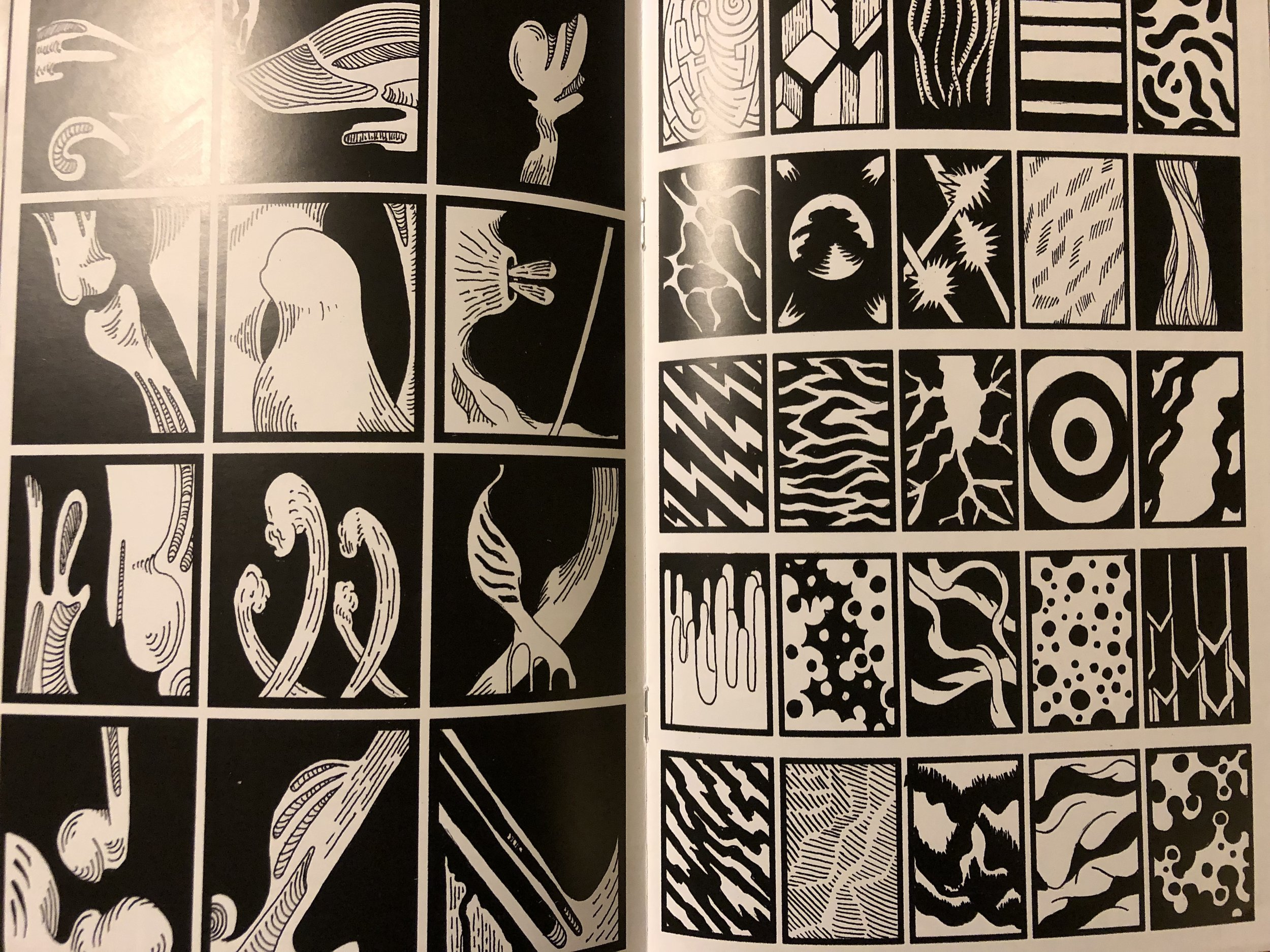A sampling from issue 1 of Geist's  The Tourist