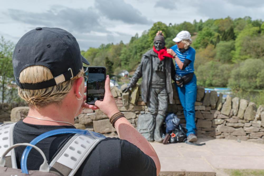 Another Tom Weir 'selfie'!