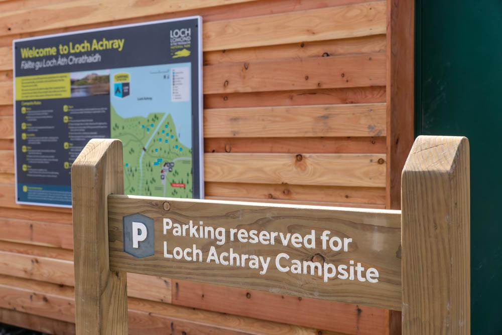 Loch Achray Campsite