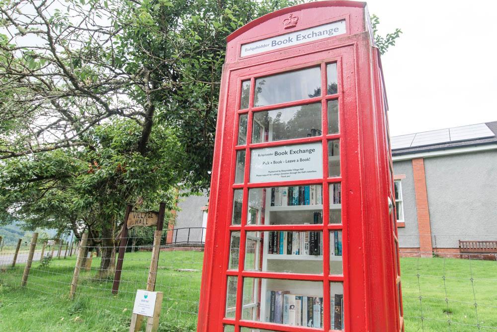 Red Phone Box, Balquhidder