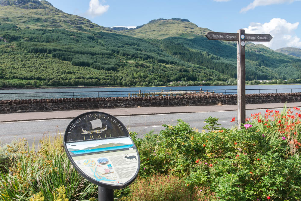 Arrochar and the Clyde Sea Lochs Trail