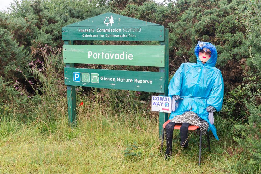 Start of the Cowal Way, Portavadie