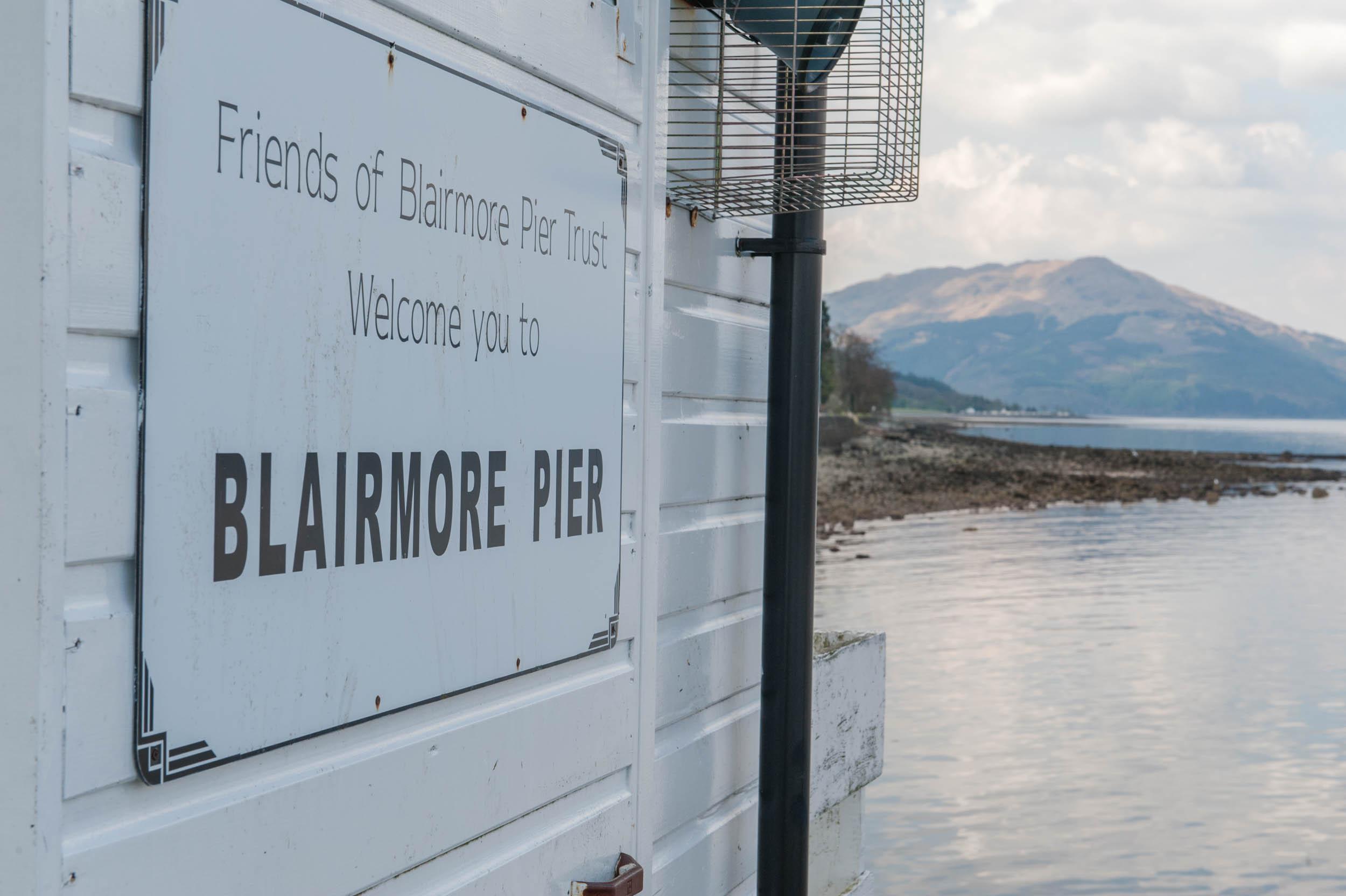 Blairmore Pier, Cowal, Argyll