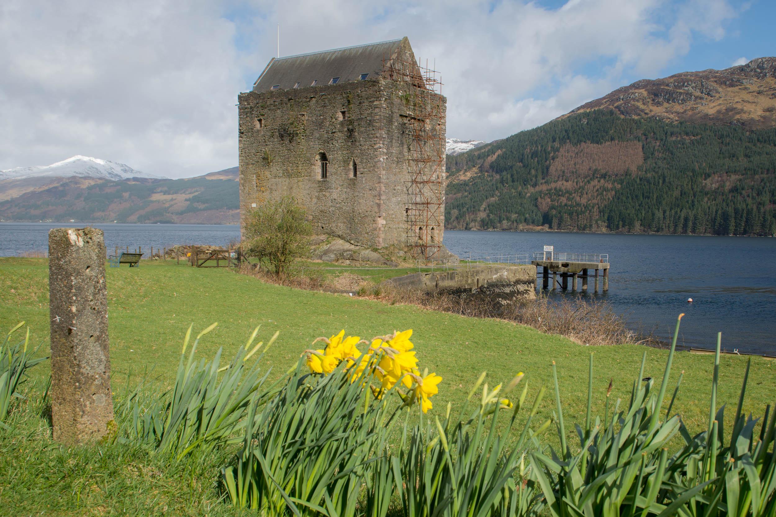 Carrick Castle, Loch Goil