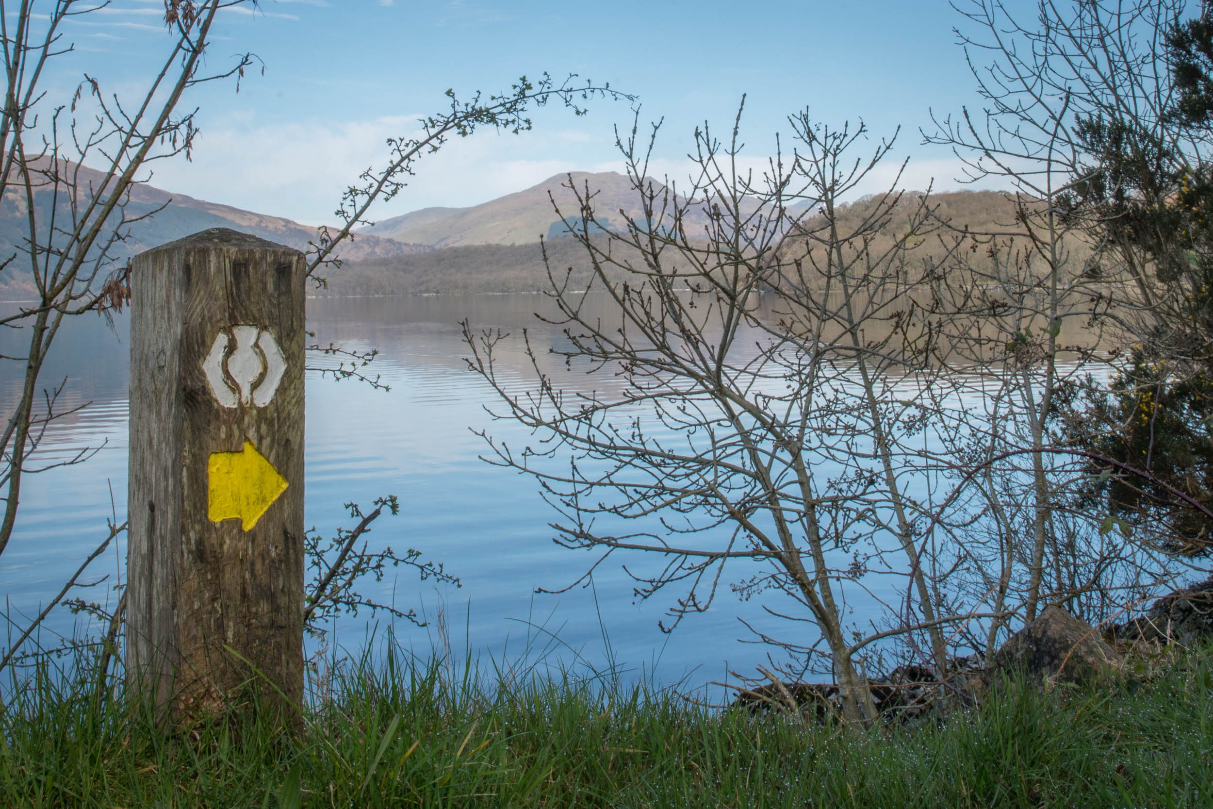 West Highland Way Route Marker