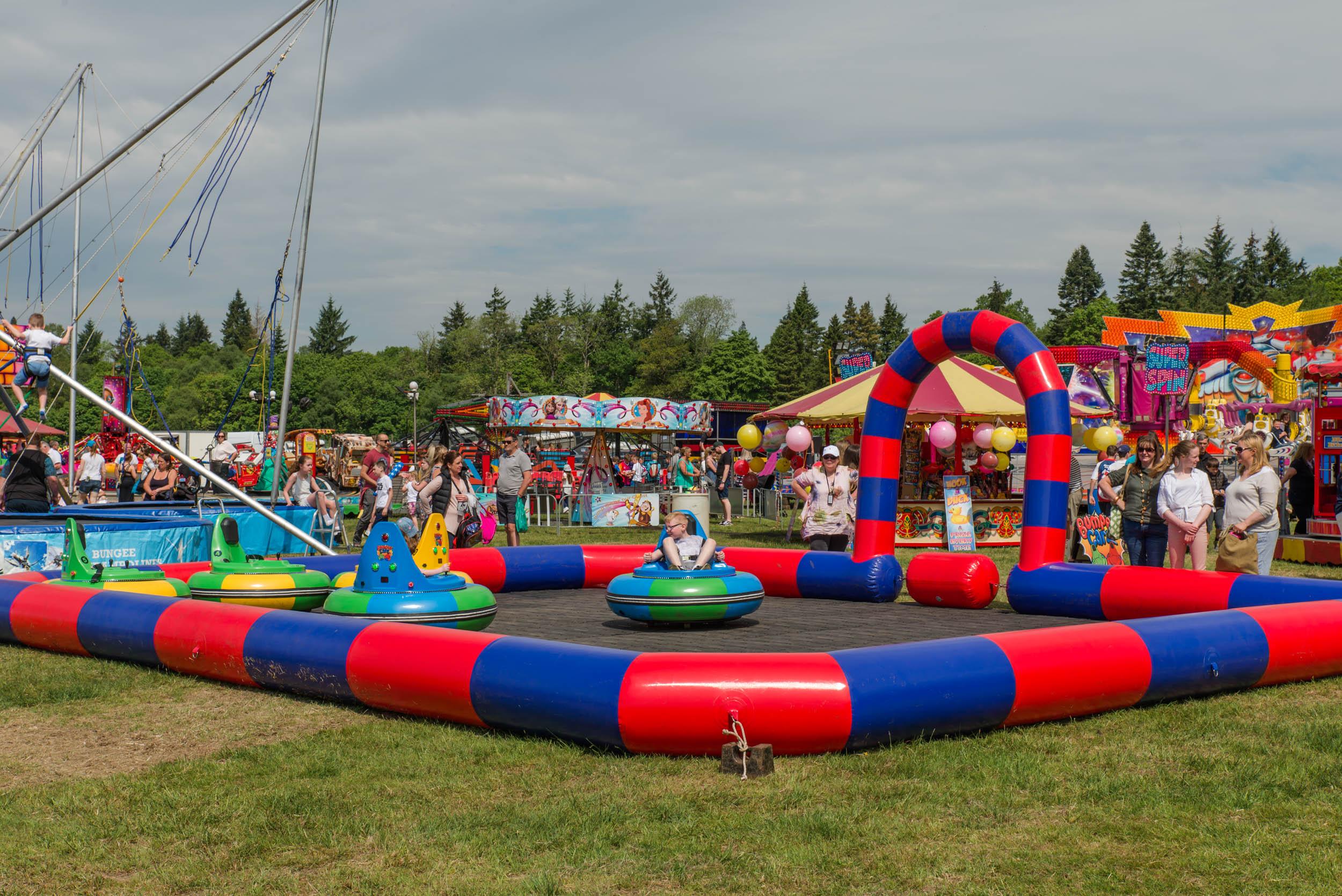 Drymen Show Fairground