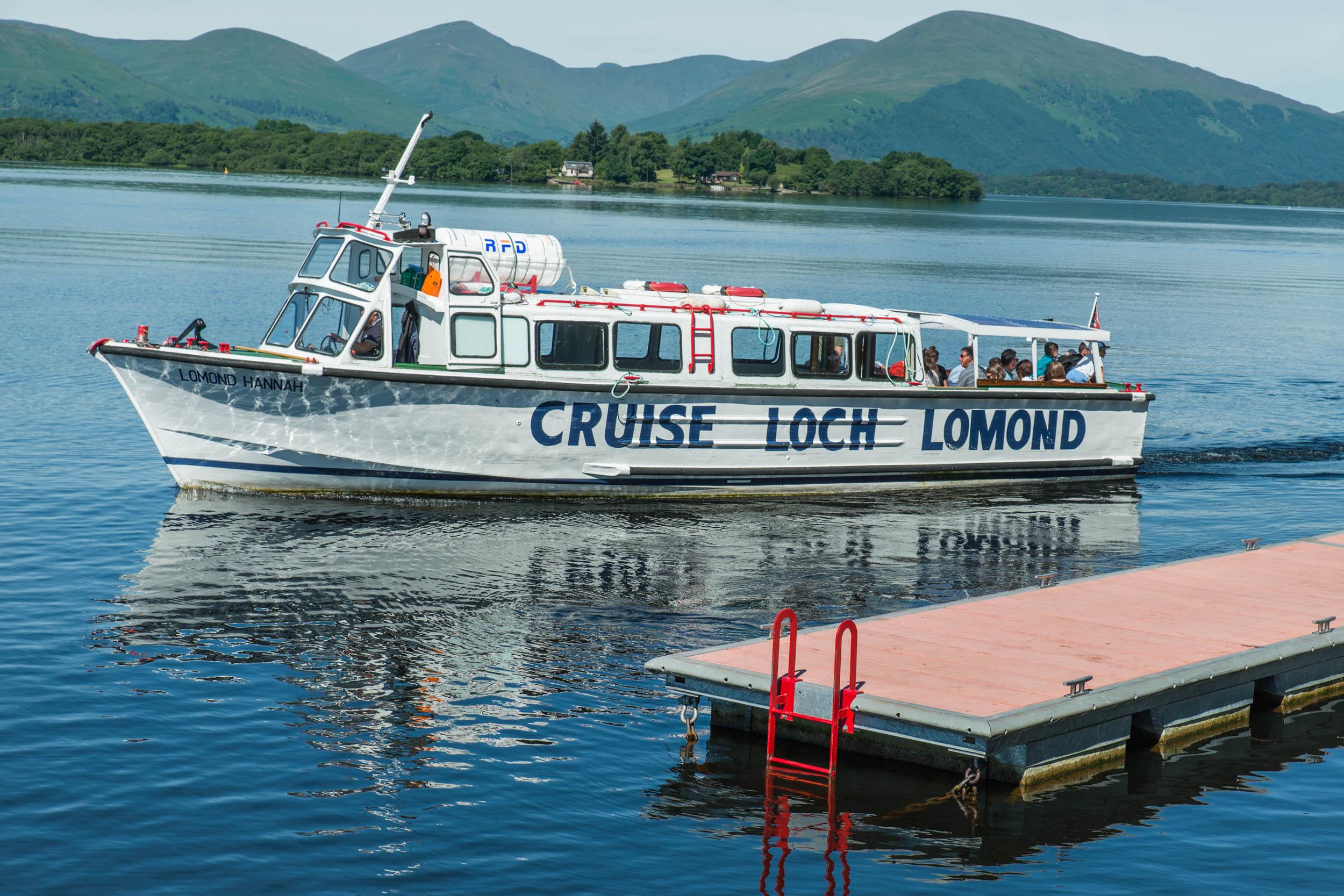 Loch Lomond Cruises, Balmaha